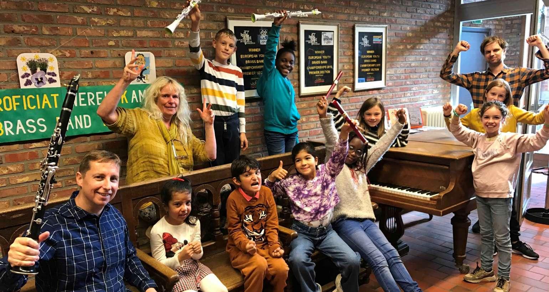 Muziekcarrousel in onze Academie